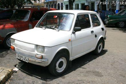 Fiat polski - tak się na Kubie nazywa nasz Maluszek