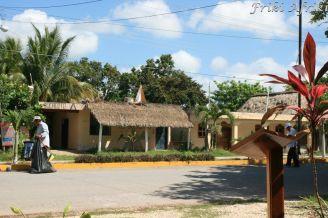 Coba - niewielkie miasteczko na Jukatanie