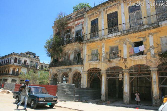 Habana Vieja - część nie turystyczna