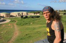 Forteca La Cabana - dawniej chroniła przed najazdami piratów - jak widać, jeden się przedostał