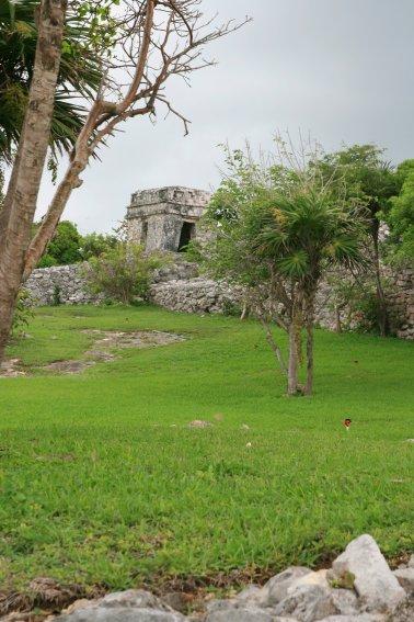 Tulum, wieża na murach obronnych