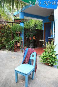 I w hostelu miło posiedzieć (La Cabana, Tulum)
