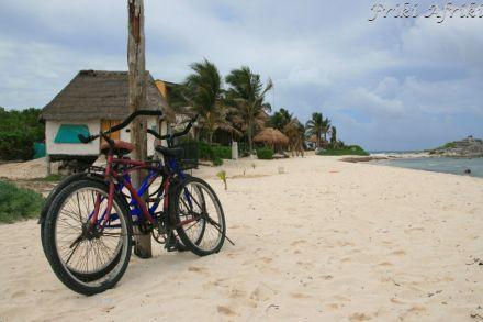 Nasze rowery odpoczywają, odpoczywamy i my