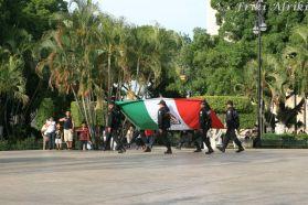 Poniedziałkowa uroczystość zdjęcia flagi
