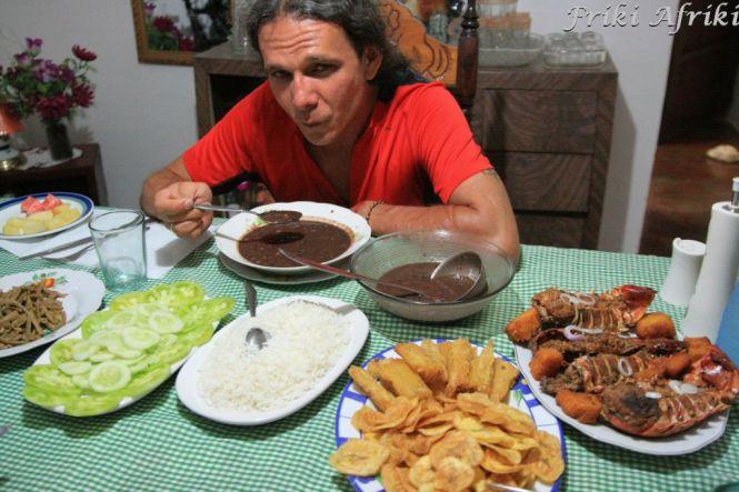 Uczta w Viniales - Pani Isabel jest doskonałą kucharką