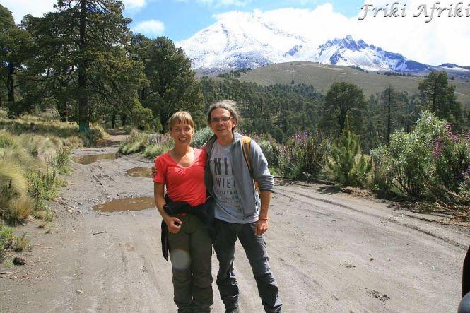 Przełęcz między Monte Negro a Pico de Orizaba