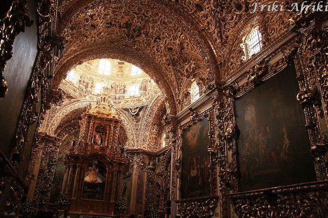 Na bogato - Capilla del Rosario, Puebla