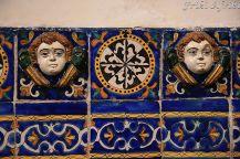 Detale z Capilla del Rosrio