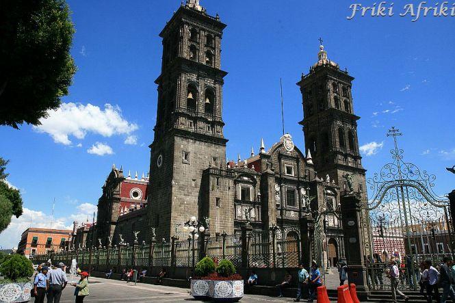Puebla - katedra