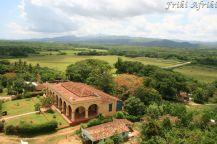 Manca Iznaga - widok na dawną plantację