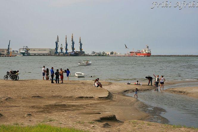Veracruz - portowe miasto, widok na plażę