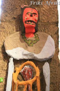 Jedna z wielu figur w Casa Azul