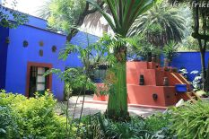 Patio w Casa Azul