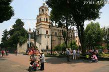 Coyoacan - niegdyś miasteczko, dziś dzielnica stolicy