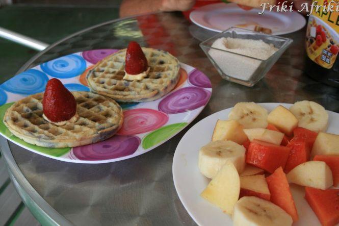 Śniadanie w wersji dla turystów - Płw. Jukatan
