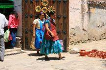 Indianki idące na targ