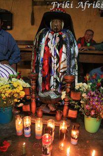 Maximon - Santiago Atitlan, Gwatemala
