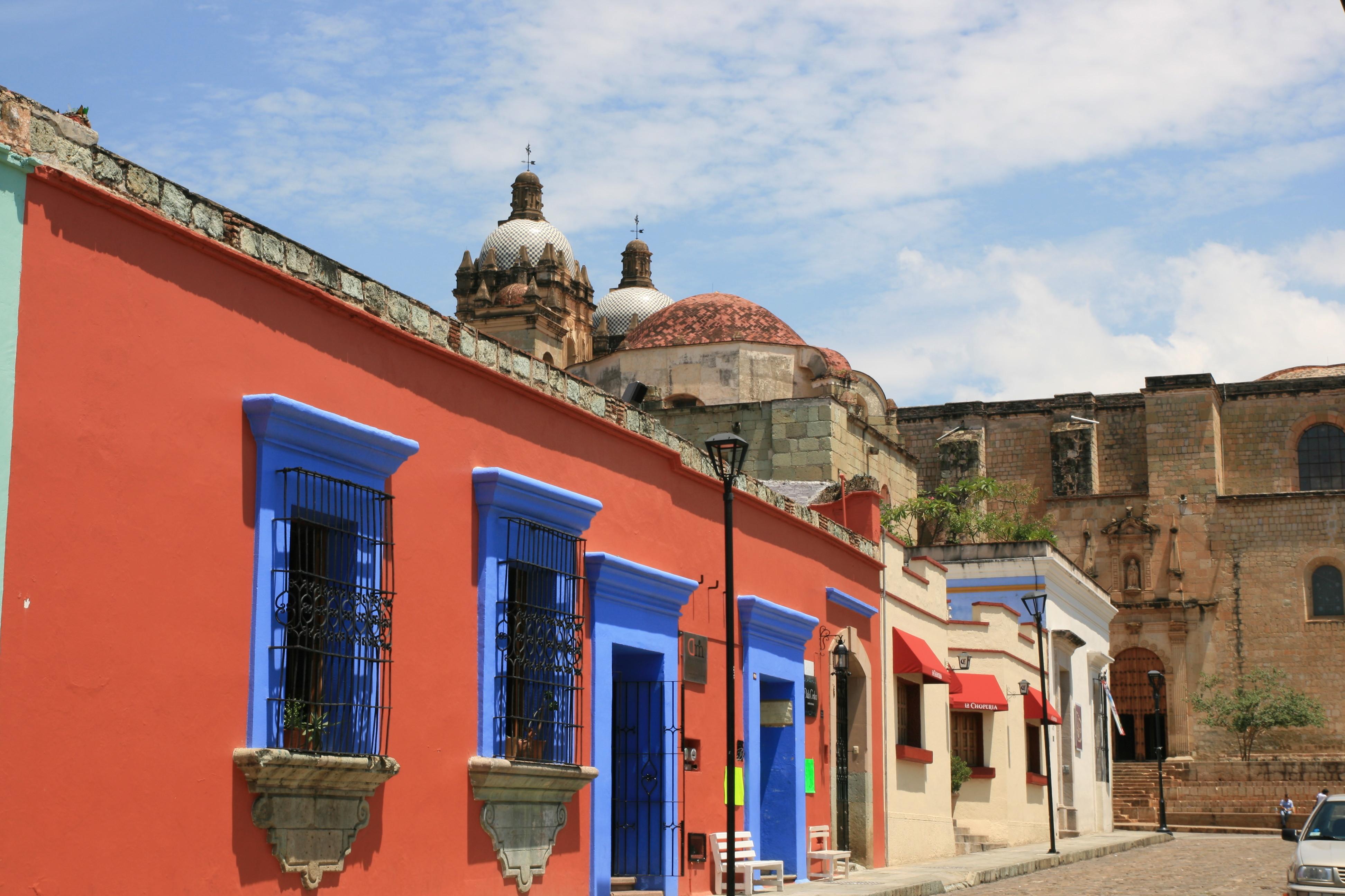 Zadbane ulice Oaxaca