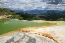 Hierve del Agua - jedno z poletek do kąpieli
