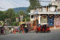 Tuk tuk w Santiago Atitlan