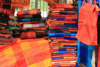 kolorowe tekstylia to domena stanu Chiapas