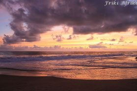 Zachód słońca, Mazunte