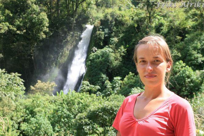 Wodospad koło Nebaju