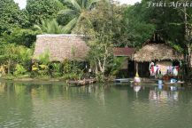 Domki nad Rio Dulce